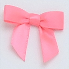 10mm Bright Pink Satin Bow