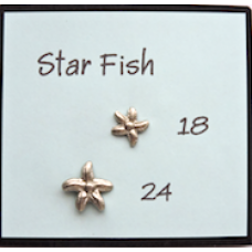 Metal Aquatic Star Fish Buttons With BOGOF Offer!