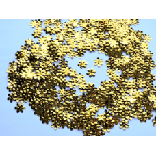 Flower Shaped Gold Confetti