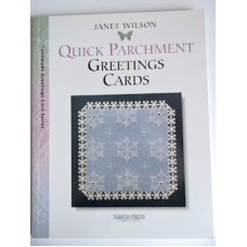 """""""Quick Parchment"""" Greeting Cards Book by Janet Wilson."""