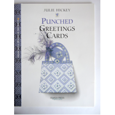 """""""Punched Greeting Cards"""" book by Julie Hickey."""