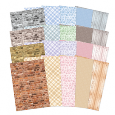 """Hunkydory """"Perfect Patterns"""" Adorable Scorable Cardstock."""