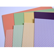 """Hunkydory """"Spots"""" Adorable Scorable Cardstock."""