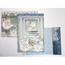 """Hunkydory """"Especially for Her"""" 'Time for Tea' Card Kit."""