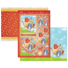 """Hunkydory """"Little Dudes"""" Card Kit, 'Little Knight'."""