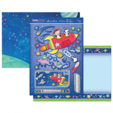 """Hunkydory """"Little Dudes"""" Card Kit, 'Out of this World!'."""