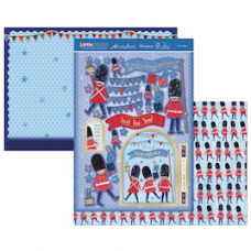 """Hunkydory """"Little Dudes"""" Card Kit, 'Toy Soldiers'."""