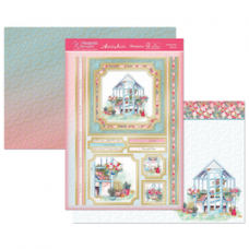 """Hunkydory Wonderful Women """"A House for Flowers"""" Card Kit."""