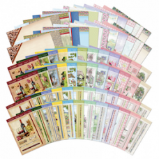 """Hunkydory """"Shabby Chic"""" Deco Large Collection with Inserts"""