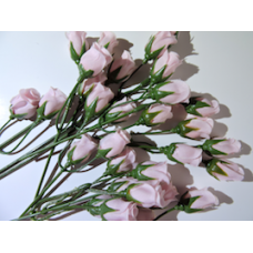 30 x Baby Pink Flowers.
