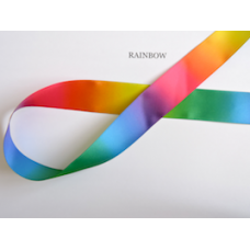 25mm Rainbow Ribbon