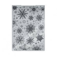 "Crafter's Companion 5"" x 7"" 3D Embossing Folder - Sparkling Snowflake"