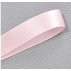 25mm Double Sided Satin Ribbon Colour Baby Pink