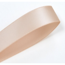 16mm Double Faced Satin Ribbon Colour: Peach