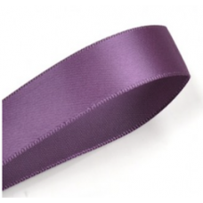 38mm Double Faced Satin Ribbon Colour: Plum