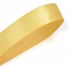 38mm Single Faced Satin Ribbon Colour: Yellow Gold