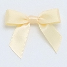 10mm Buttermilk Satin Bow