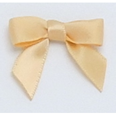 10mm Caramel Satin Bows