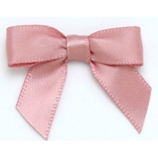 10mm Dark Pink Satin Bows