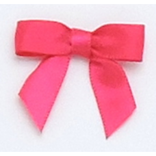 10mm Fuchsia Pink Satin Bows