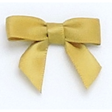 10mm Golden Olive Satin Bows