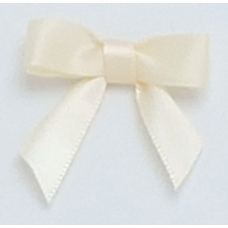 10mm Ivory Satin Bows
