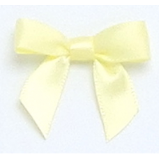 10mm Lemon Satin Bow