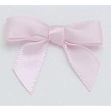 10mm Petal Pink Satin Bow