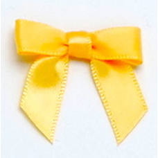 10mm Yellow Gold Satin Bow