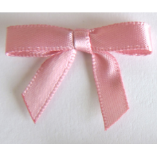 7mm Satin Bow - Colour: Dark Pink