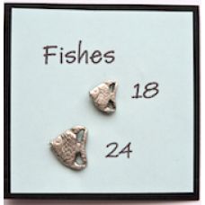 Metal Aquatic Fishes Buttons With BOGOF Offer!