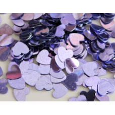 Heart Shaped Lilac Confetti