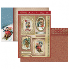 Hunkydory Christmas Classics 'Christmas Greetings' card kit.