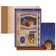 Hunkydory Christmas Classics 'The Nativity' card kit.