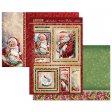 Hunkydory Christmas Classics 'Santa Claus is Coming to Town' card kit.