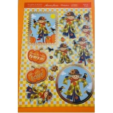 """Hunkydory Thoughts of Autumn Patchwork Pumpkin""""  Luxury card Kit."""