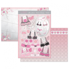 "Hunkydory Wonderful Women ""Friends are Like a Good Bra"" Card Kit."