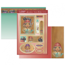"Hunkydory Wonderful Women ""Majestic Moments"" Card Kit."