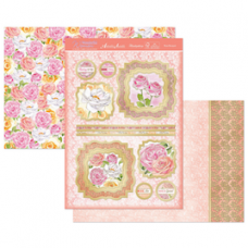 "Hunkydory Wonderful Women ""Rose Bouquet"" Card Kit."