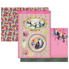 "Hunkydory Wonderful Women ""Toucan Do It!"" Card Kit."