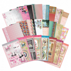"Hunkydory ""Wonderful Women"" Card Kit, with Matching Inserts."