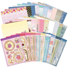 "Hunkydory ""Especially for Her"" Luxury Card Kit. WITH INSERTS"