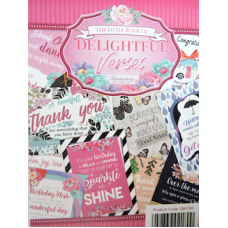 Hunkydory Little Book Selection: Delightful Verses