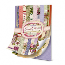 "Hunkydory ""Garden Flowers"" of Britain Papers.Plus Insert Pack"