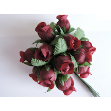 Burgundy Artificial Flowers.