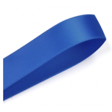 38mm Double Faced Satin Ribbon Colour: Electric Blue