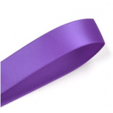 16mm Double Faced Satin Ribbon Colour: Purple