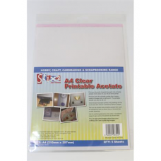 Stix 2 A4 Clear Printable Acetate